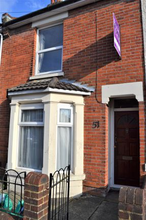 Thumbnail Terraced house to rent in Northcote Road, Southampton