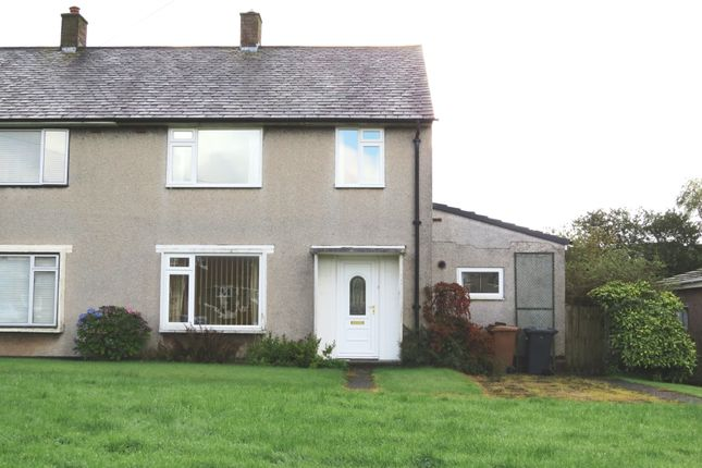 Thumbnail 3 bed semi-detached house for sale in Scawfell Crescent, Seascale, Cumbria
