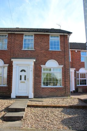 Thumbnail Terraced house to rent in Wolsey Way, Syston, Syston, Leicester