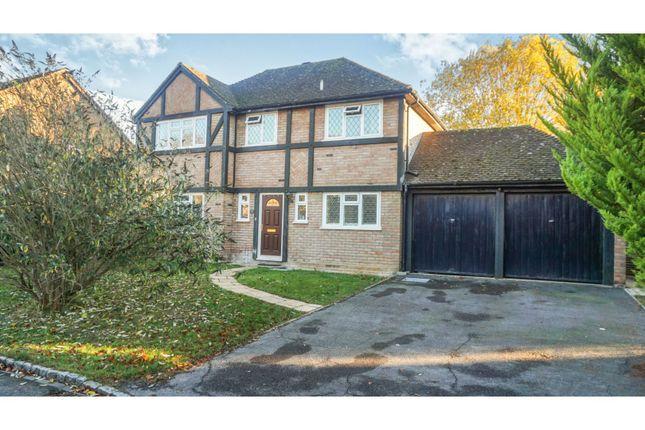 Thumbnail Detached house for sale in St. Gabriels Lea, Basingstoke