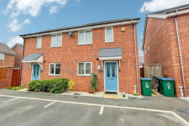 Thumbnail Semi-detached house for sale in Petal, Winston Close, Coventry