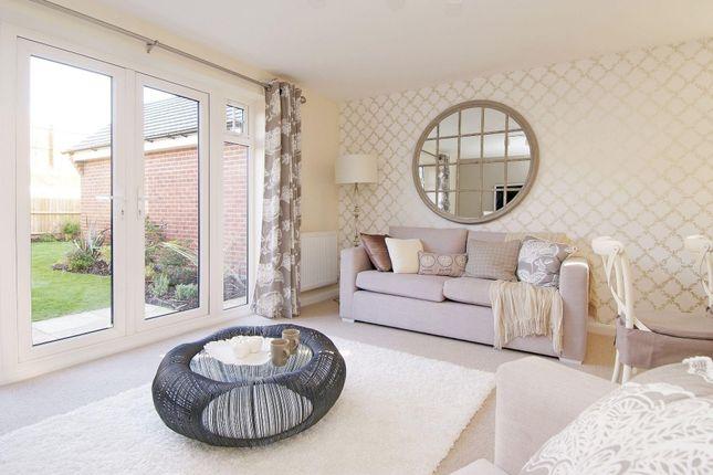 "Thumbnail Semi-detached house for sale in ""Nugent"" at Fen Street, Brooklands, Milton Keynes"