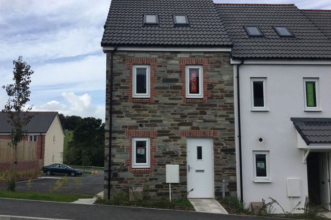 """End terrace house for sale in """"The Moseley"""" at Carlton Way, Liskeard"""