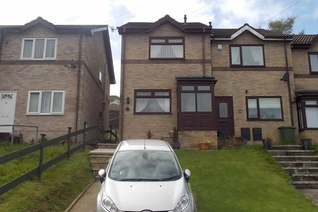 Thumbnail End terrace house for sale in Clos Broniestyn, Pontypridd