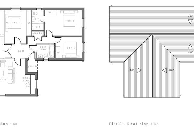 Plot 2 Floorplan of Runnon Moor Lane, Hatherleigh, Okehampton EX20