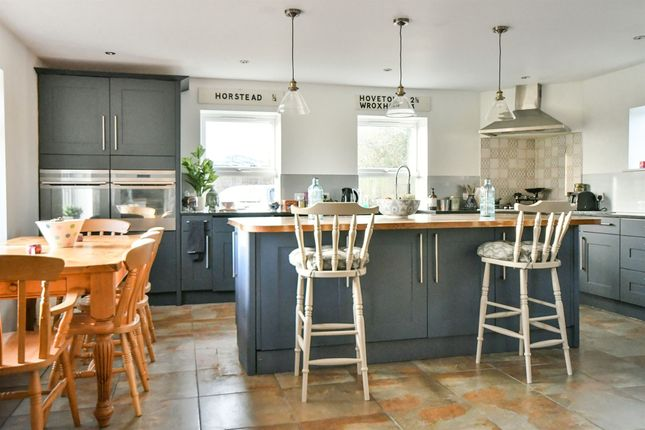 Thumbnail Detached house for sale in Norrington Lane, Broughton Gifford, Melksham