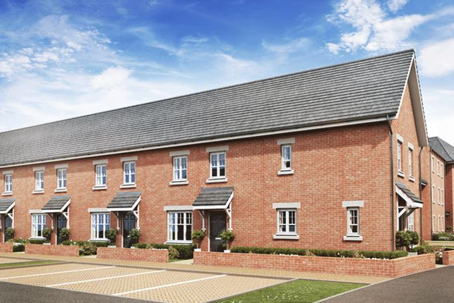 "Thumbnail End terrace house for sale in ""Amber"" at King Alfred Way, Bedford"