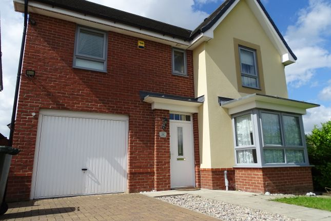 Thumbnail Detached house to rent in Byrewood Walk, Newcastle Upon Tyne