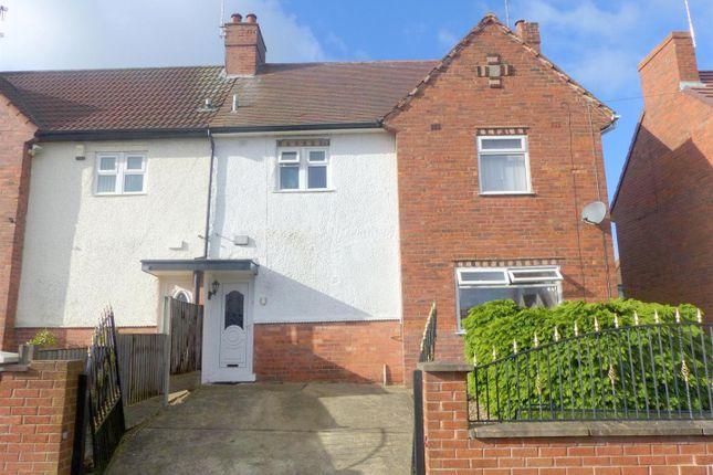 Thumbnail End terrace house to rent in Garside Avenue, Sutton-In-Ashfield