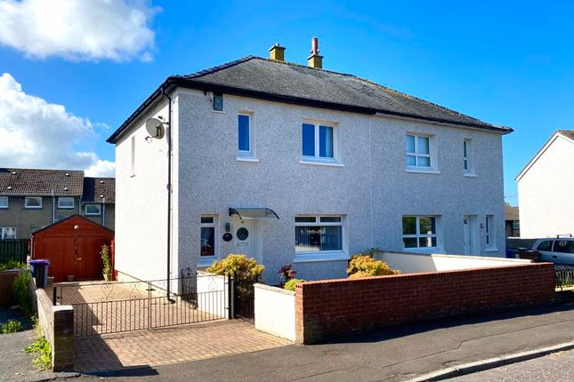 3 bed semi-detached house for sale in Drumley Avenue, Mossblown, Ayr KA6