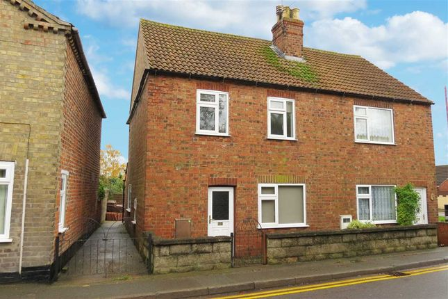 Thumbnail Semi-detached house to rent in Hawthorn Drive, Fen Road, Billinghay, Lincoln