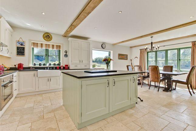 Family Kitchen of Headley Mill Farm, Standford Lane, Standford, Hampshire GU35