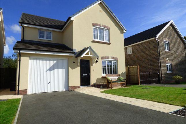 Thumbnail Detached house for sale in Rose Close, Pembroke, Pembrokeshire