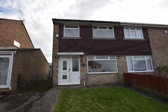 Thumbnail Semi-detached house to rent in Coed-Y-Capel, Barry
