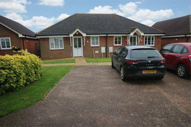 Thumbnail Semi-detached bungalow for sale in The Oaks, Mattishall, Dereham, Norfolk