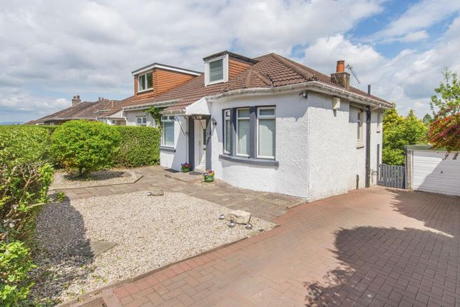 Thumbnail Semi-detached bungalow for sale in 97 Calderwood Road, Rutherglen, Glasgow