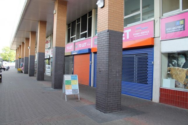 Retail premises to let in Birdcage Walk, Dudley