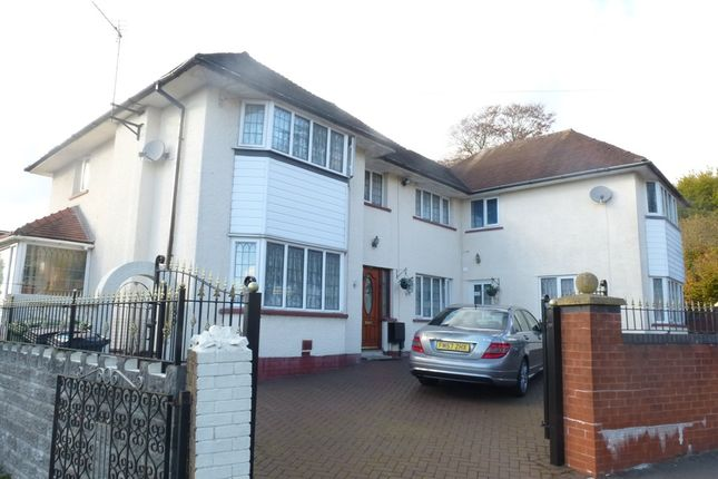 Thumbnail Detached house for sale in Fairwater Grove West, Llandaff, Cardiff