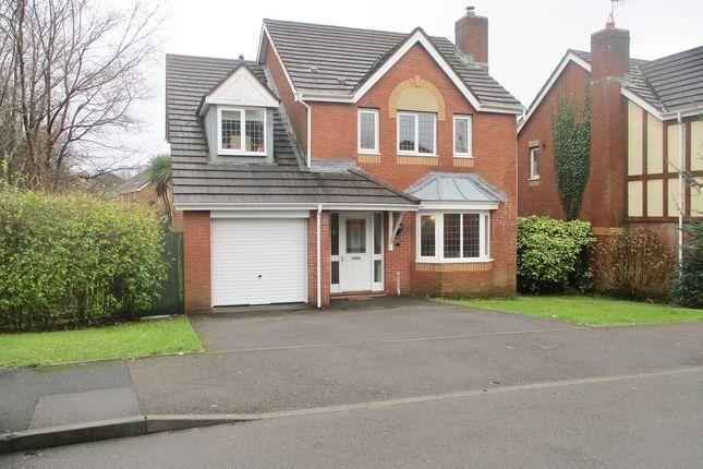 Thumbnail Detached house for sale in Ffordd Derwen, Margam