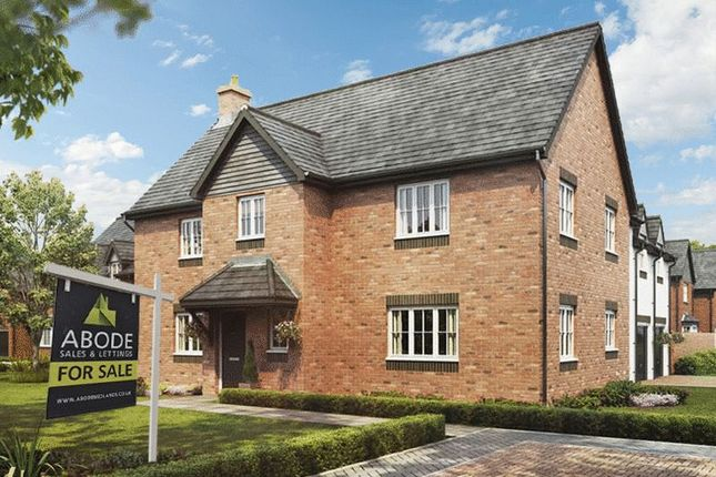 Thumbnail Detached house for sale in Plot 12, The Regent, Barley Fields, Uttoxeter