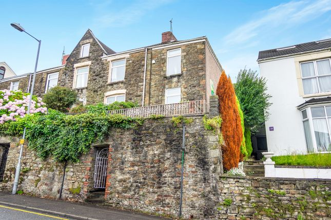 Thumbnail End terrace house for sale in Terrace Road, Swansea