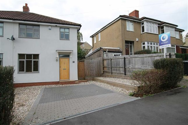Thumbnail Semi-detached house for sale in Aldercombe Road, Coombe Dingle, Bristol