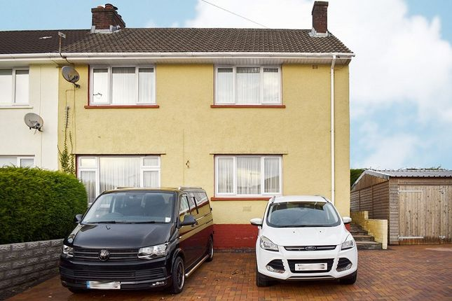Thumbnail Semi-detached house for sale in Heol Las, Pencoed, Bridgend .