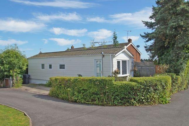Thumbnail Mobile/park home for sale in The Glen, Linthurst Newtown, Blackwell Village.
