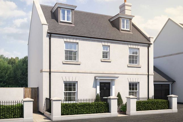 "Thumbnail Detached house for sale in ""The Lutyens"" at Haye Road, Sherford, Plymouth"