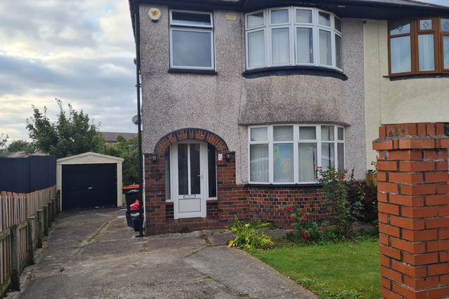 Thumbnail Semi-detached house to rent in Badminton Road, Newport