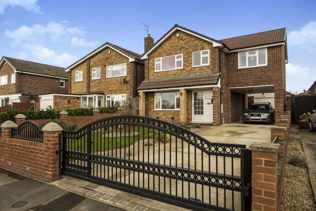 Thumbnail Detached house for sale in Worcester Avenue, Mansfield Woodhouse, Mansfield