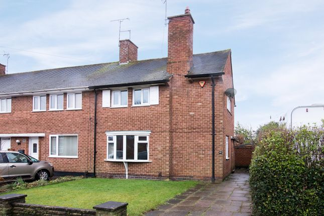 Thumbnail End terrace house for sale in Roseleigh Road, Rubery