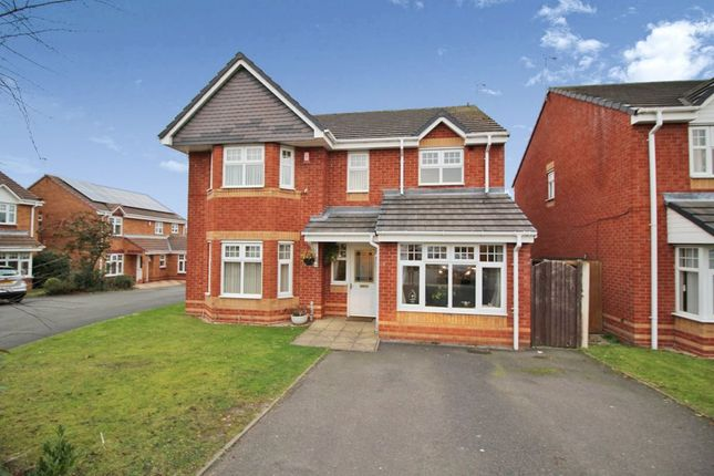 Thumbnail Detached house to rent in Winterborne Gardens, Nuneaton