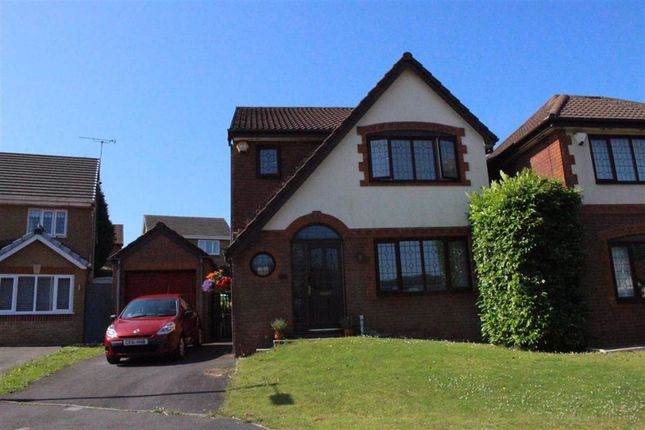Thumbnail Detached house for sale in Ffordd Dryden, Killay, Swansea