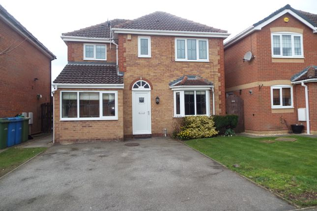 Thumbnail Detached house to rent in Greenfield Way, Carlton-In- Lindrick, Nottinghamshire