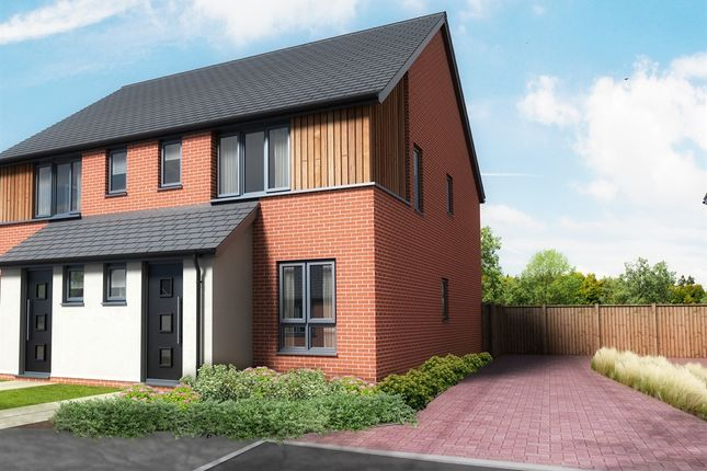 Thumbnail Semi-detached house for sale in Pound Cottages, Bloomsbury Close, Oulton, Lowestoft