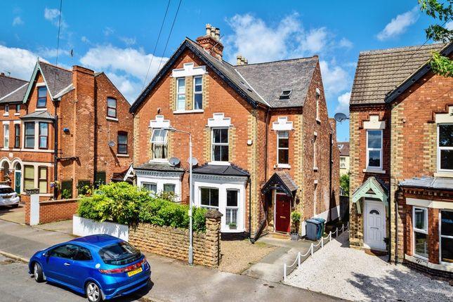 Thumbnail Semi-detached house for sale in Millicent Road, West Bridgford, Nottingham