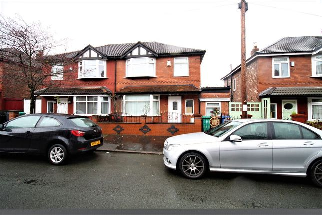 Thumbnail Semi-detached house for sale in Duncan Road, Longsight, Manchester