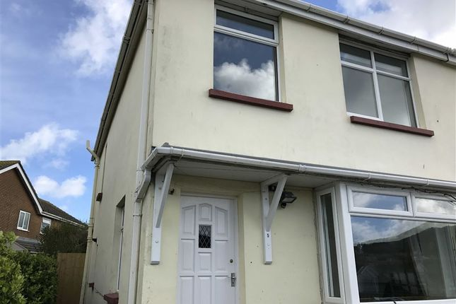 Thumbnail End terrace house for sale in Marlborough Park, Ilfracombe