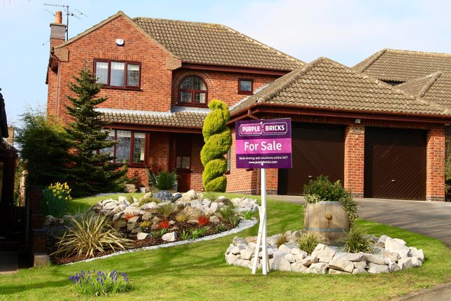 Thumbnail Detached house for sale in Miss Pickerings Field, Stafford