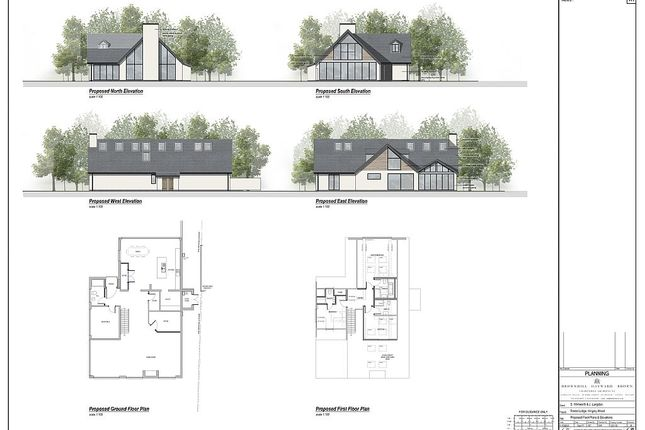 Thumbnail Detached house for sale in Kingsley Wood Road, Cannock Forest, Staffordshire