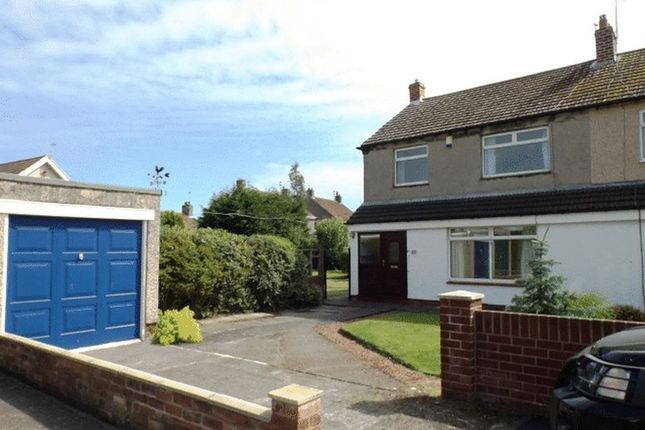 Thumbnail Semi-detached house for sale in Castle View, Amble, Morpeth