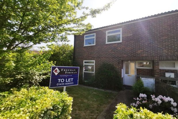 Thumbnail Semi-detached house to rent in Leeves Way, Heathfield