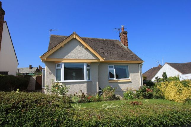 Thumbnail Detached bungalow for sale in Penrhos Drive, Penrhyn Bay, Llandudno