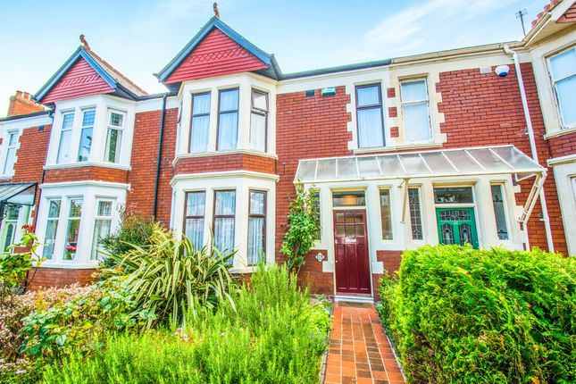 Terraced house for sale in Southminster Road, Penylan, Cardiff