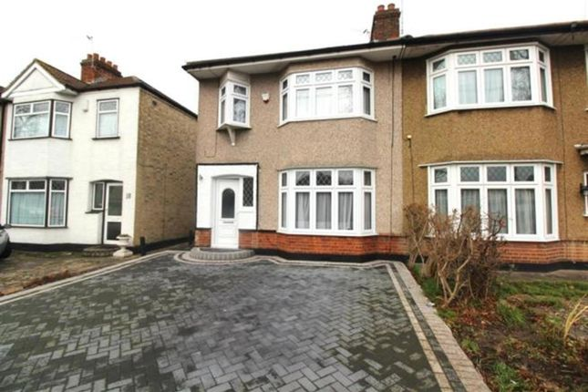 3 bed semi-detached house to rent in Suttons Avenue, Hornchurch RM12