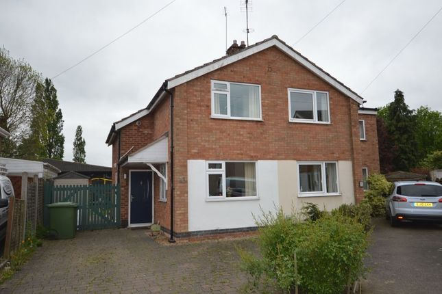 Thumbnail Semi-detached house for sale in Manor Road, Cosby, Leicester