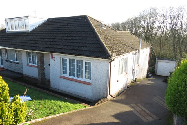 Thumbnail Semi-detached bungalow for sale in Hartwell Avenue, Elburton, Plymouth