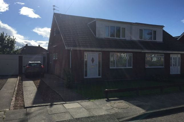 Thumbnail Semi-detached house for sale in Bilton Hall Road, Jarrow