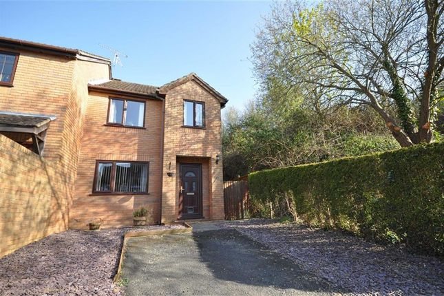 Thumbnail End terrace house to rent in Clayfield Drive, Malvern